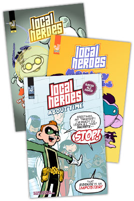 Image: Local Heroes 3-Book Set